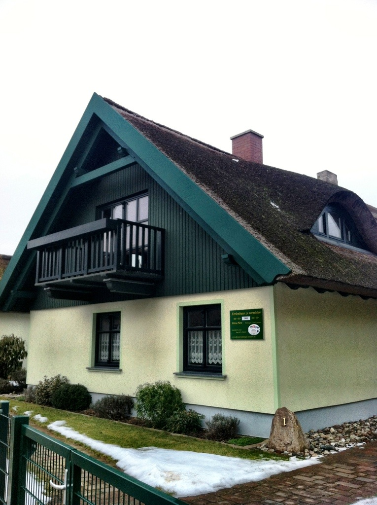 typical Baltic style house