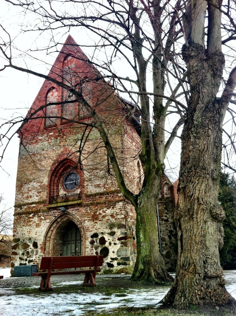 old stone church in koserow