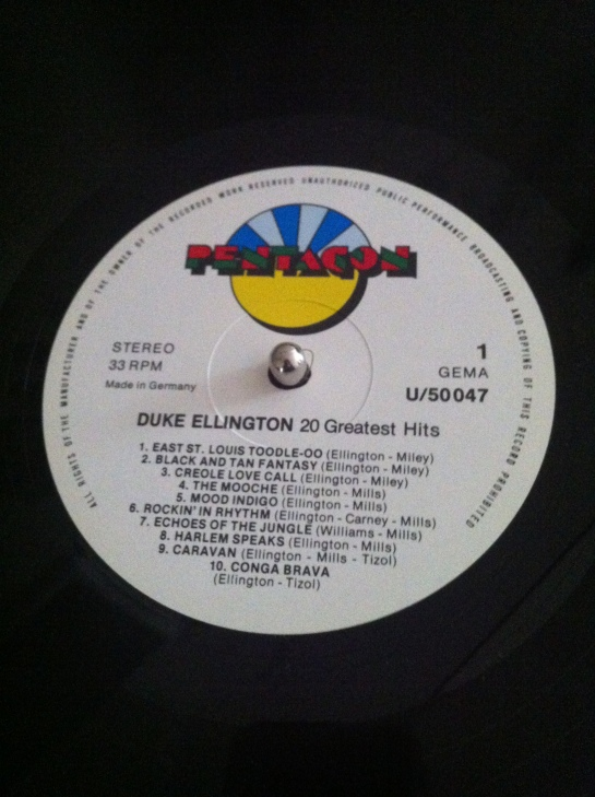 duke ellington record