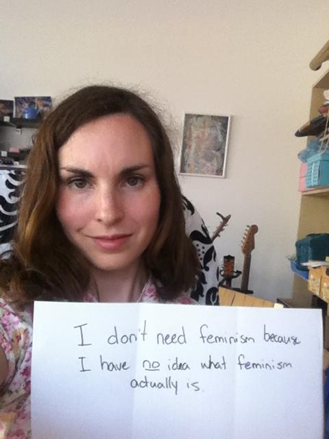 Actually, I do need feminism