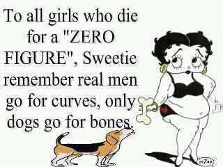 Real men go for curves