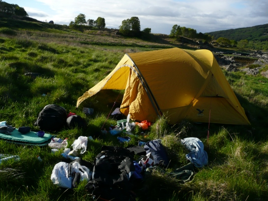 Campsite on Skye