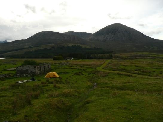Second campsite on Skye
